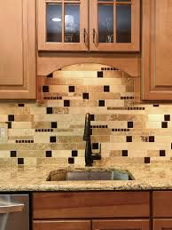 kitchen backsplash ideas for cabinets ba1025 travertine glass