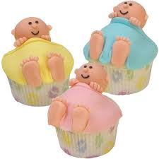 crib cuddlers baby shower cupcakes wilton