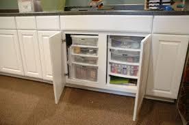 kitchen sink cabinet organizer scrapbook room cabinet organizers