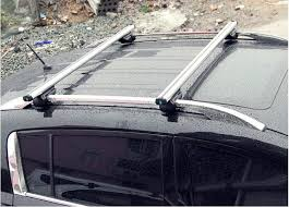 Car Top Carrier Cross Bars 2x Universal Car Roof Rack Cross Bar With Security Lock System 48