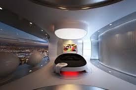 Futuristic Bedroom Design Bedroom Design For Luxury Penthouse
