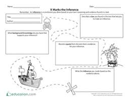 x marks the inference worksheet education com