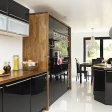 black gloss kitchen ideas kitchen walnut kitchen dining ideas gloss small images design