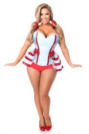 halloween corset lavish 3 pc kansas corset costume