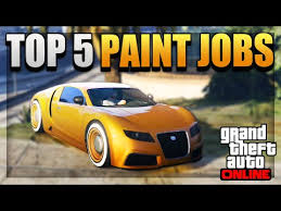 gta 5 u2013 top 5 paint jobs u0026 diverse color schemes online u2013 best