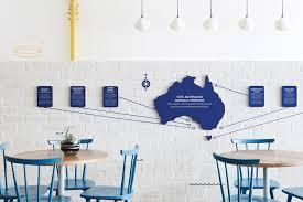 the good fish restaurant branding by swear words retail design blog