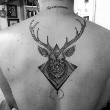 90 deer tattoos for manly outdoor designs