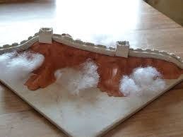 great wall my made for me out of clay for sinterklaas we went