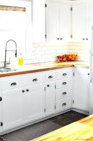Kitchen Cabinet Update by Gray Flat Front Kitchen Cabinets With This Kitchen Hack You Will