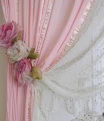 Shabby Chic Curtains Pinterest by Diy Shabby Chic Curtain Tiebacks Romantic Cottage Life