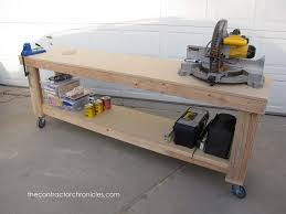 rolling work table plans hilarious diy f down workbench similiar homemade workbench keywords