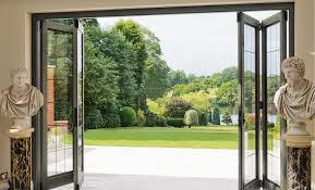 Bifold Exterior Glass Doors Awesome Bi Fold Glass Doors Exterior Cost Gallery Ideas House