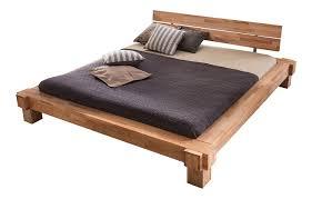 Betten Schlafzimmer Amazon Massivholzbett Luna Balkenbett In Kernbuche Doppelbett Größe