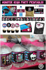 monster high table and chair set monster high birthday party decoration ideas