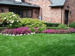 beautiful flower beds in front of house design ideas garden trends