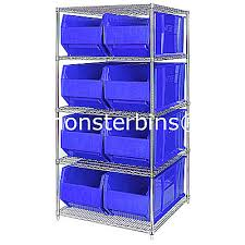 Storage Bins For Shelves by Monster Bins Blog Storage Bins And Shelves For Displaying
