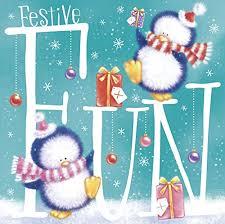 bumper box of 30 cute christmas cards 4 santa teddy bear designs