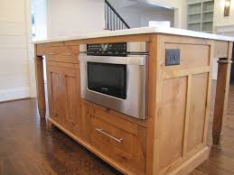 kitchen island with microwave drawer kitchen island with microwave trends drawer images custom made