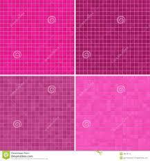 Pink Tile Set Of Textures Pink Tile Floor Stock Illustration Image 39916112