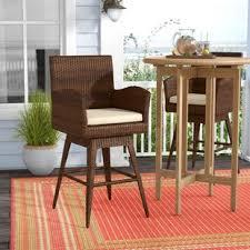 bar chair covers outdoor bar stool covers wayfair