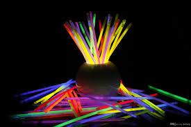 neon party hot led light sticks bracelet necklaces neon party glow
