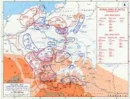 1939 Europe Map by Invasion Of Poland Maps U2013 September 1939 Historical Resources
