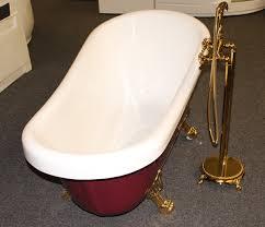 Clawfoot Tub Fixtures Classic Clawfoot Tub W Regal Brass Lion Feet Gold Telephone
