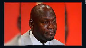 Jordan Crying Meme - what s up with crying jordan cnn video
