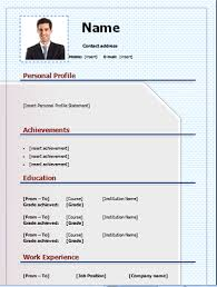 editable resume template free download cv template free and editable on microsoft word cv