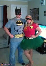 batman and robin couple halloween costume