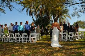 wedding venues st petersburg fl outdoor garden waterfront wedding in downtown st petersburg fl