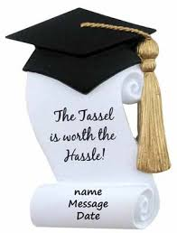 graduation ornaments buy tassel worth the hassle graduation ornament personalized