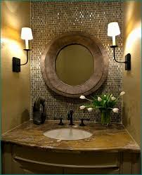Bronze Bathroom Mirror Bathroom Oval Mirror House Decorations