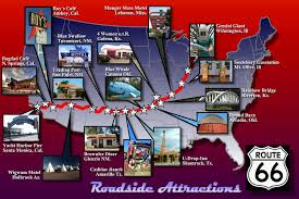 Route 66 Map by File Route 66 Attractions Map Jpg Wikimedia Commons