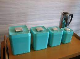 Ideas Design For Canisters Sets And Turquoise Kitchen Canisters Archives Glass Canister Set