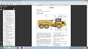 articulated dump truck b25d u0026 b30d 6 x 6 repair manual auto