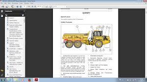 articulated dump truck b25d u0026 b30d 6 x 6 repair manual auto