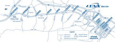Metro Light Rail Map by Charlotte Light Rail Map Metro U2022 Mapsof Net