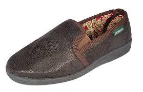 dunlop tennis shoes dunlop mens twin gusset faux leather slipper