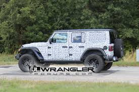 jeep camo 2018 jeep wrangler jl drops major camo revealing nearly all