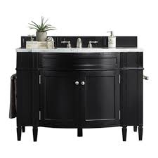 46 Bathroom Vanity 46 Black Onyx Single Bathroom Vanity