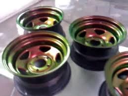 flip flop painted wheels kameleon pearl paint youtube