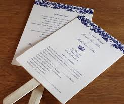Diy Wedding Program Fan 3 Ways To Format Your Wedding Program Formatting Your Wedding