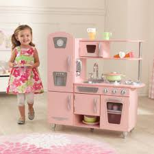 vintage play kitchen pink