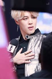 jimin goes viral as the with the silver jacket during