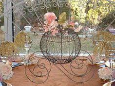 cinderella carriage centerpieces google search cendrillon