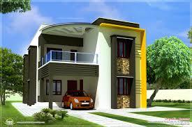 front home design unique modern house front side design india