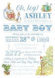 peter rabbit baby boy shower hello brielle