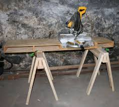 how to make a portable miter saw table jeff u0027s diy projects