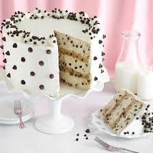 chocolate chip cookies u0026 milk cake foodgawker